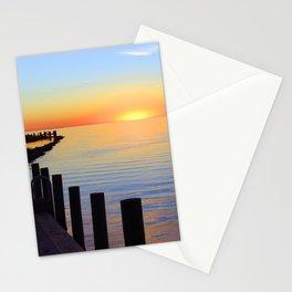 Ocracoke Pamlico Sound Sunset 2015 Stationery Cards