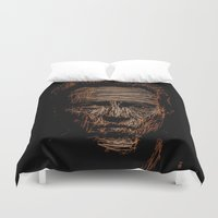 christopher walken Duvet Covers featuring Walken by Blake Byers