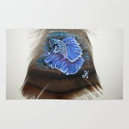 Lovely Betta Fish Rug