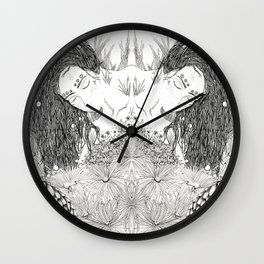 Lady fish Wall Clock