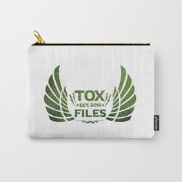 Tox Files - Green on White Carry-All Pouch