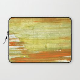 Vegas gold abstract watercolor Laptop Sleeve