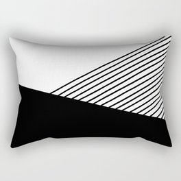 Geometric composition Rectangular Pillow