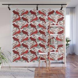 Little Cardinals Wall Mural