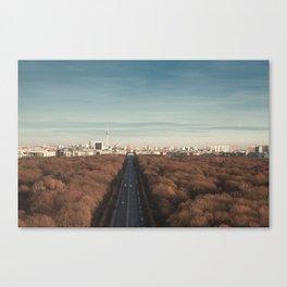 Berlin Snippet Canvas Print