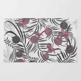 Plants Flowers and Your Light Fruit Rug