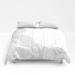 Classical Music Background Comforters