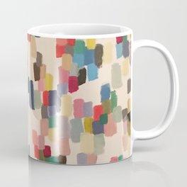 Colorful happy cheerful abstract painting Coffee Mug