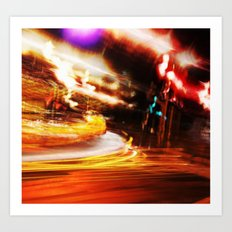 Night Cruise Art Print