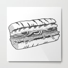 one veg for me, please. Metal Print