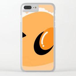Scrambled in Space Clear iPhone Case