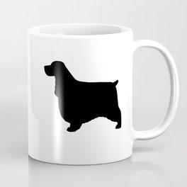 English Cocker Spaniel Silhouette Coffee Mug