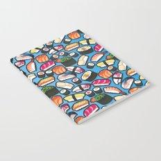 Sushi Blue Notebook