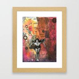 The Laughter Fairy Framed Art Print