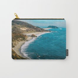 California Coastline Dreaming Carry-All Pouch
