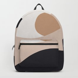 Abstraction_SUN_BODY_LANDSCAPE_Minimalism_002 Backpack
