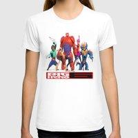 big hero 6 T-shirts featuring Big Hero 6 by ezmaya
