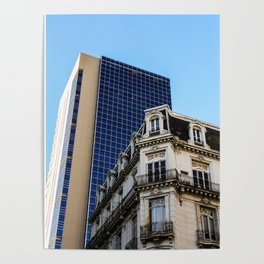 Architectural contrast II Poster