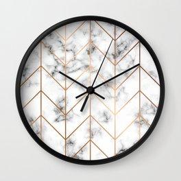 Marble Print pattern, Marble, modern marble print, marble print, geometric, marble look Wall Clock