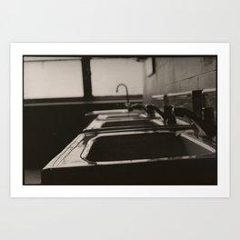 The Sinks Art Print