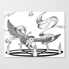 Mystic Owl Canvas Print