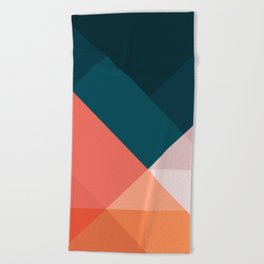 Geometric 1708 Beach Towel