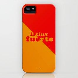 latinx iPhone Case