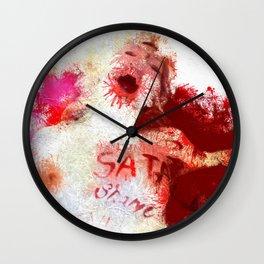 The Manifestation of Shame Wall Clock