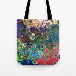 Satellite Souls Tote Bag