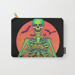 I Love Halloween Carry-All Pouch