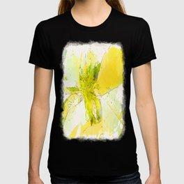 Pale Yellow Poinsettia 1 Serene T-shirt