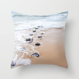 Serenity Retreating Throw Pillow