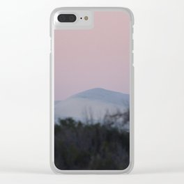 Sunset and Sand Dune Clear iPhone Case
