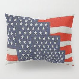 Patriotic Americana Flag Pattern Art Pillow Sham