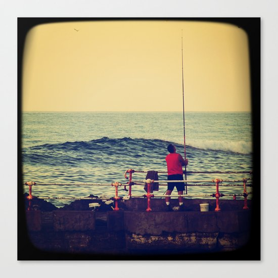 Fish Mundaka Canvas Print