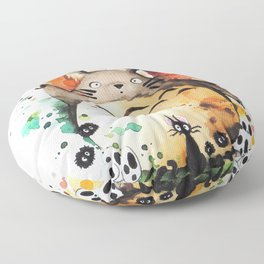 """""""The crossover n°2"""" Floor Pillow"""