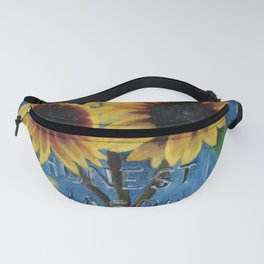 Lightning Bugs and Sunflowers Fanny Pack