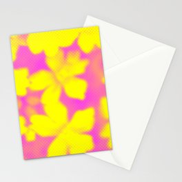 Flower | Flowers | Yellow & Pink Flowers | Nadia Bonello Stationery Cards