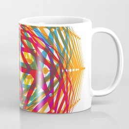 4 Corners of Abundance (wide) Coffee Mug