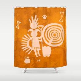 Petroglyphs 2 Shower Curtain