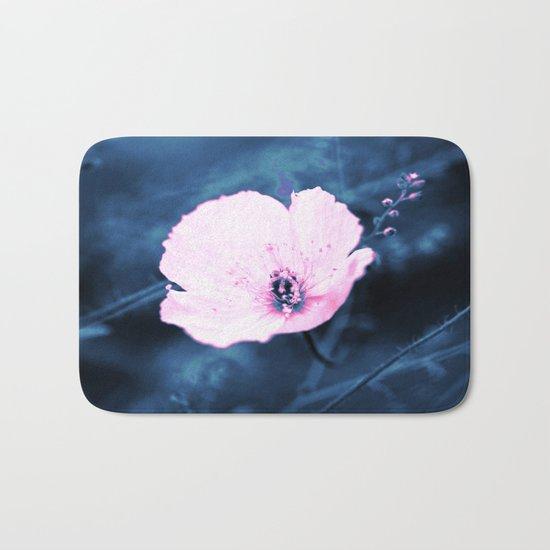 September Flower Bath Mat