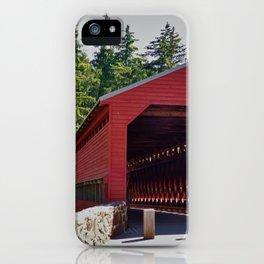 Sachs Covered Bridge 3 iPhone Case