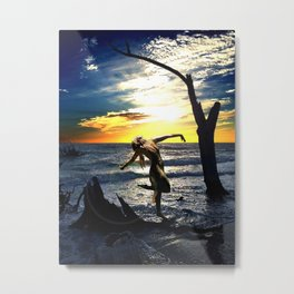 Hanging Tree Metal Print
