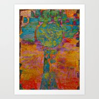 virgo Art Prints featuring Virgo by Fernando Vieira