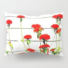 flowers many red Pillow Sham