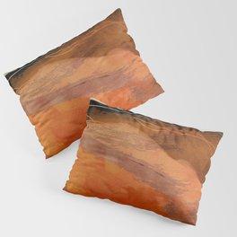 landscape in fall abstract art Pillow Sham