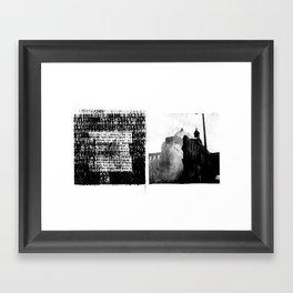 DUPLICITY / 05 Framed Art Print