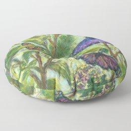 Summer Fantasy by Marianne Fadden Floor Pillow