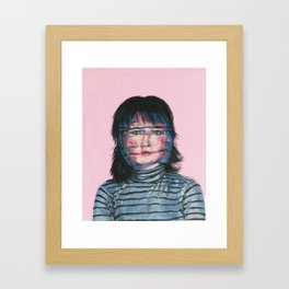 Blurriness Framed Art Print