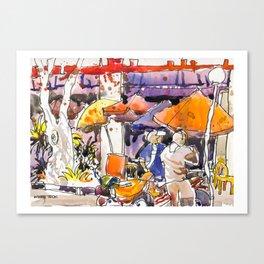 20170311B Golden Shoe USKSG Canvas Print